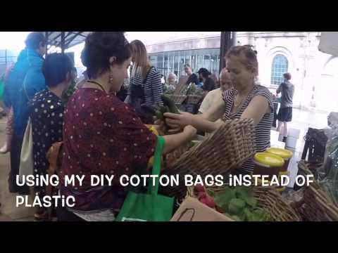 Zero waste trip to farmer's market in Sydney