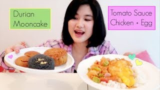 CHINESE FOOD + MOONCAKES MUKBANG | EATING SHOW
