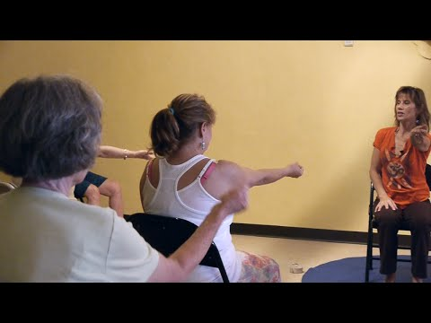 (1 Hr) Chair Yoga Class: Banishing Back Pain Naturally with Sherry Zak Morris, E-RYT
