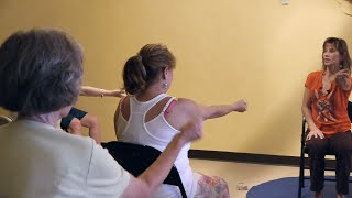 1 Hr Chair Yoga Class: Banishing Back Pain Naturally with Sherry Zak Morris, E-RYT