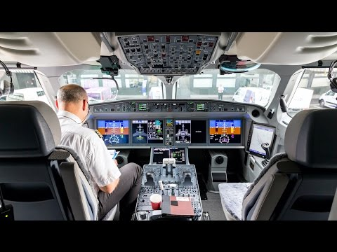FIRST Flight of Swiss CS100 | Inflight Experience | CDG to Z