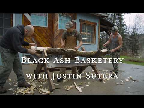 Black Ash Basketry at Roots School