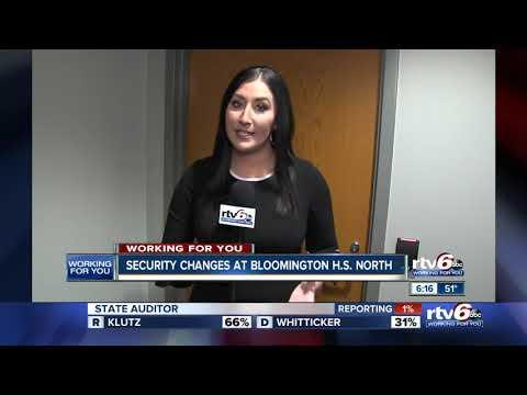 Bloomington school changes security after locker room incident