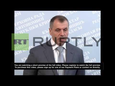 Ukraine: Crimean Parliament declares independence from Ukraine