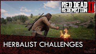 Red Dead Redemption 2 Herbalist Challenges Guide