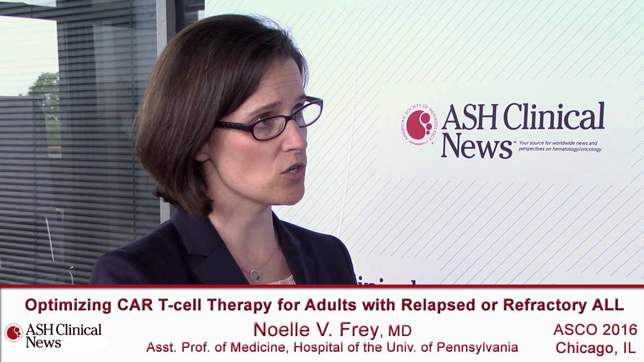 Optimizing CAR T-Cell Therapy in Relapsed/Refractory ALL - YouTube