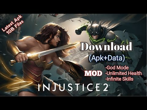 Download Injustice 2 (MOD,Unlimited Health,Immortal) Free On Android