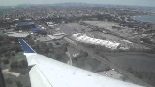 gojet delta connection crj 700 laguardia lga klga expressway visual runway 31 approach and landing