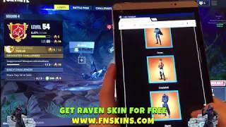 How To Get Raven Skin FREE FREE Fortnite Raven Skin