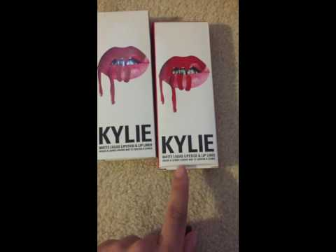 1708cb4f239 How to tell the difference between a real and fake Kylie lip kit