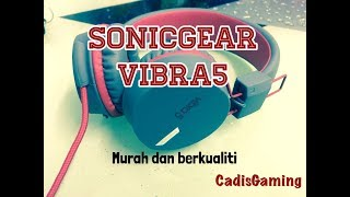 SonicGear Vibra 5 unboxing and review