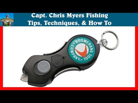 Cutting Braided Fishing Line The Snip Line Cutter Review Youtube