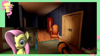 [SFM] (Contains Melons) Fluttershy plays Hello Neighbor thumbnail