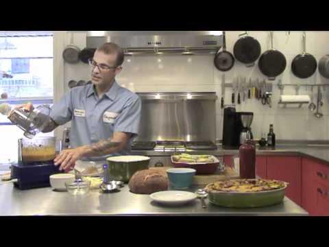 Savory Apple & Butternut Squash Bread Pudding