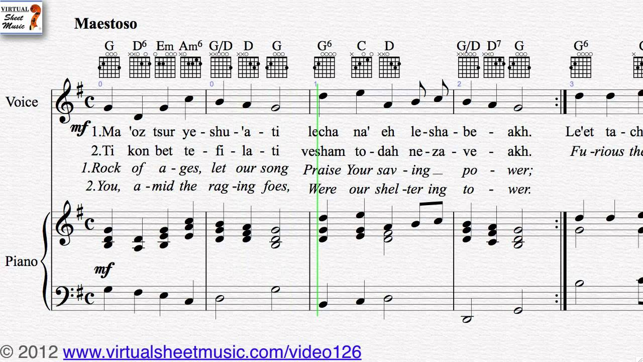 Uncategorized Hanukkah Songs hanukkah rock of ages from collection voice piano and more sheet music video score