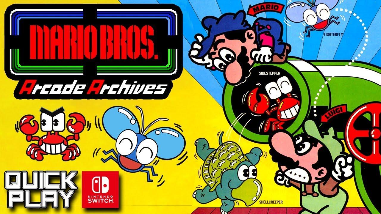 Review: Arcade Archives Mario Bros.