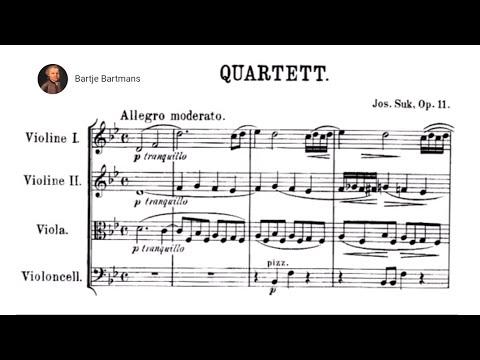 Josef Suk - String Quartet No. 1,  Op. 11 (1896)