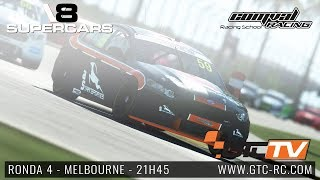 Virtual V8 Supercars 2018 - Ronda 4 - Melbourne by GTC