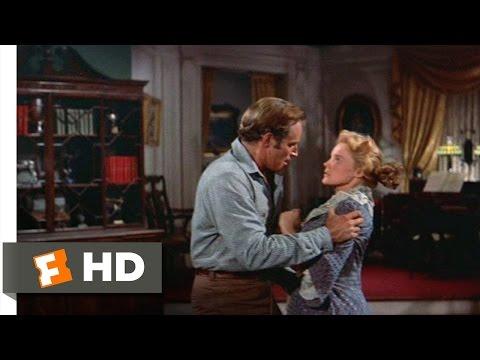 The Big Country (5/10) Movie CLIP - Steve Manhandles Pat (1958) HD