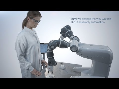 Introducing YuMi, the world's first truly collaborative robot - ABB Robotics