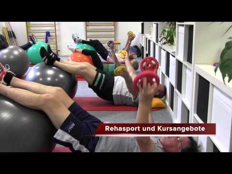 Rehasport in der Physiotherapie Potsdam
