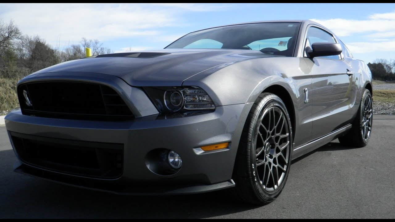 Sold 2013 Shelby Gt500 Ford Mustang Sterling Grey Svt