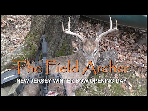 SADDLE HUNTING: NEW JERSEY WINTER BOW BUCK HUNT