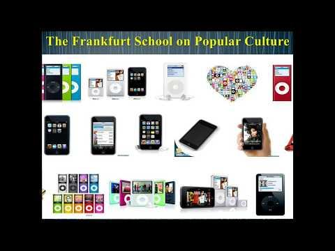 The Frankfurt School On Popular Culture Part 1 (of 3)