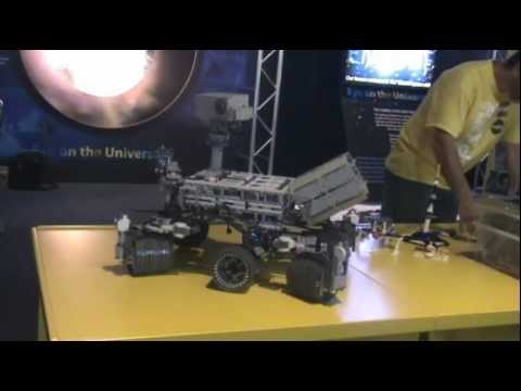LEGO MINDSTORMS Mars Curiosity Rover - YouTube