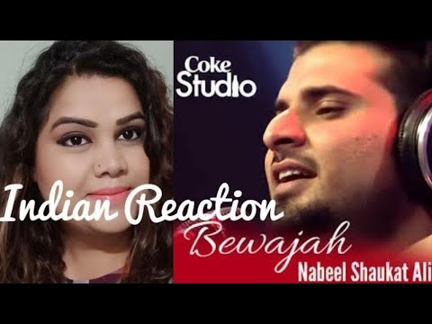 Indian Reaction on Nabeel Shaukat Ali, Bewajah, Coke Studio Season 8, Episode 1