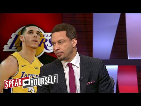Chris Broussard on Lonzo Ball not reaching out to Walton, LeBron's MVP chances | SPEAK FOR YOURSELF