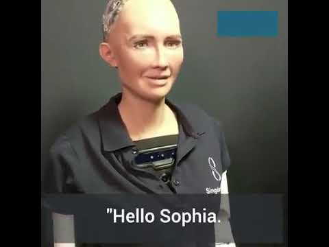 Download Scary things said by AI robot Sophia