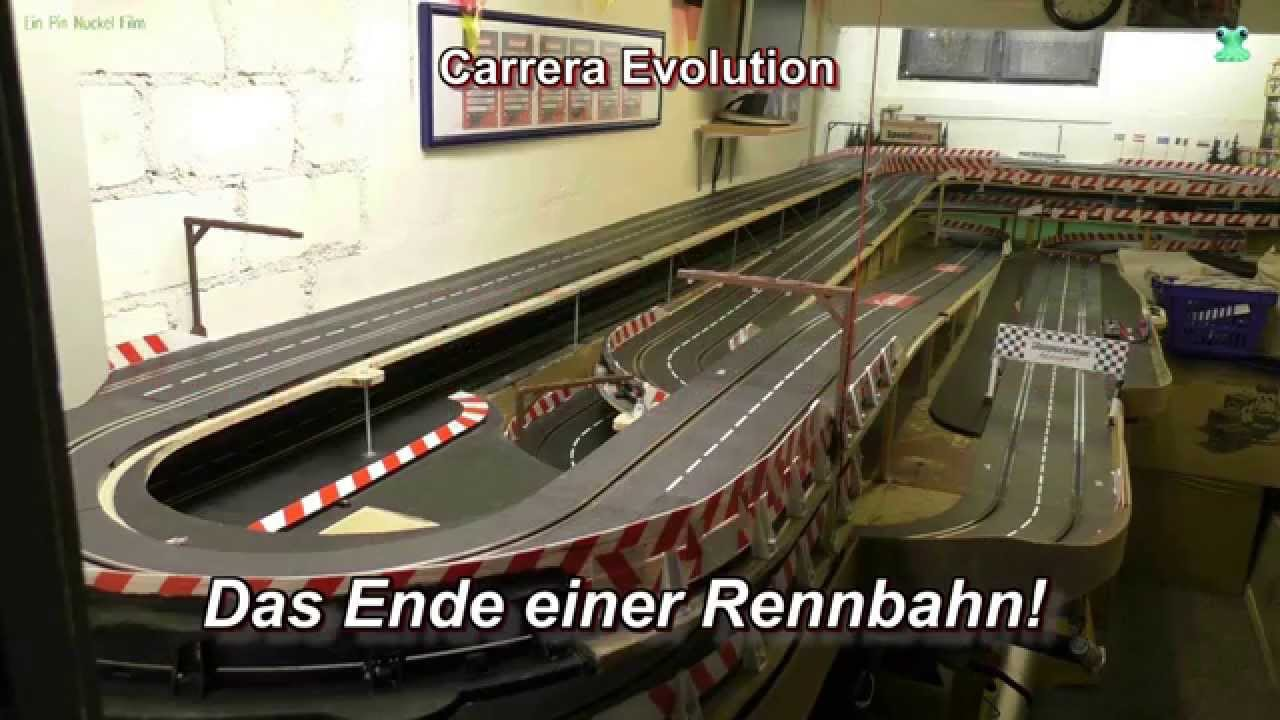 das ende einer rennbahn abbau der bahn in zeitraffer carrera bahn underground speedrace. Black Bedroom Furniture Sets. Home Design Ideas