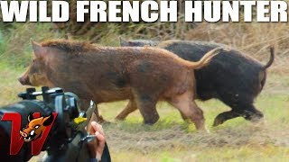 2 Wild Boars in 2 minutes !