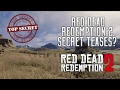 Red Dead Redemption 2 - New Small Hints? Why is Rockstar Being SO Secretive About RDR2?
