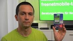 Kauf und Aktivierung freenet TV Guthabenkarte für DVB-T2 HD
