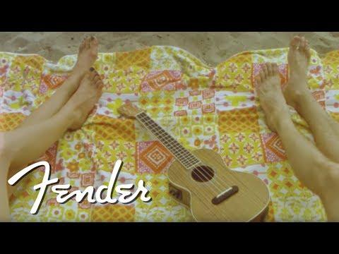 Introducing The California Coast Ukuleles   Fender