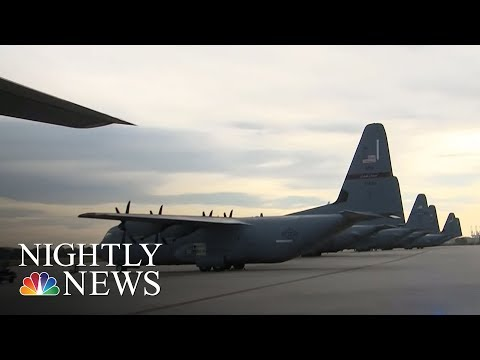 National Guard Units Across The Country Join Puerto Rico Relief Effort | NBC Nightly News