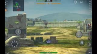 """Прохождение игры #1 World of tanks blitz обучение-начало""""Видео которое не вышло самое первое!"""""""