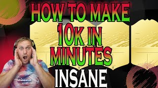 HOW TO MAKE 5K COÏNS EVERY 2 MINUTES ON FIFA 22 | THE MOST INSANE FILTERS EVER