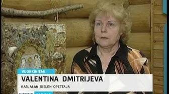 Karjalan kieli Vuokkiniemellä / Карельский язык в Вокнаволоке