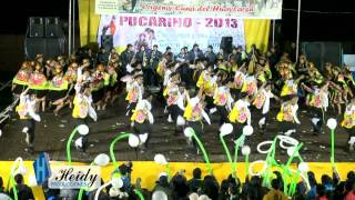 Inst. Folk. Santisima Virgen de Lourdes - Huancayo . Pucara 2013 Campeones