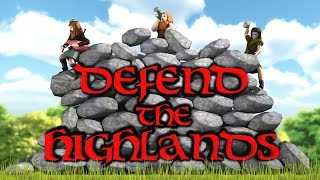 Defend The Highlands PC 60FPS Gameplay | 1080p