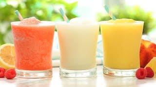 Frozen Lemonade | 3 Delicious Ways | Frosty Summer Drinks