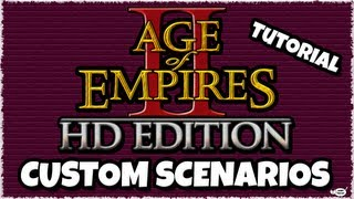 (HD) How to Play Old/Classic Custom Scenarios on Age Of Empires 2 HD Edition [ Tutorial ]