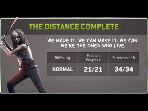 TWD NO MANS LAND The Distance Normal Mode Walkthrough missions 1-21