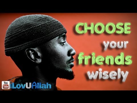 Choose Your Friends Wisely ᴴᴰ | Boonaa Mohammed