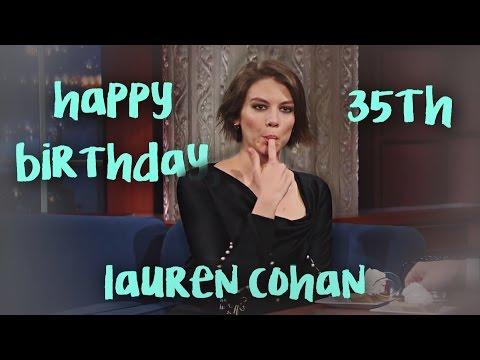 Happy 35th Birthday, Lauren Cohan!
