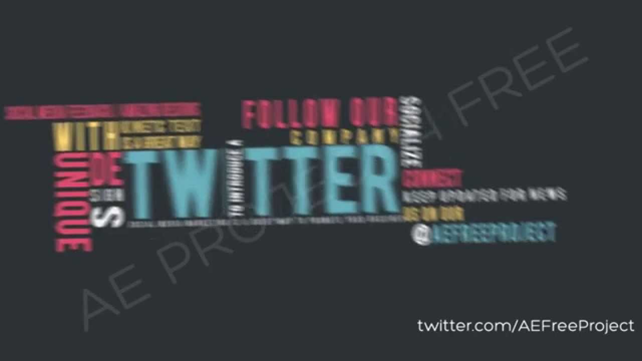 After Effects Template - Typography World Pack - YouTube