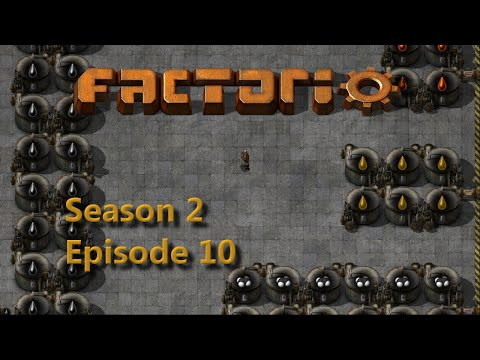 Factorio Ep10 - Oil Storage Factorissimo - Lets Play 0.13 Season 2